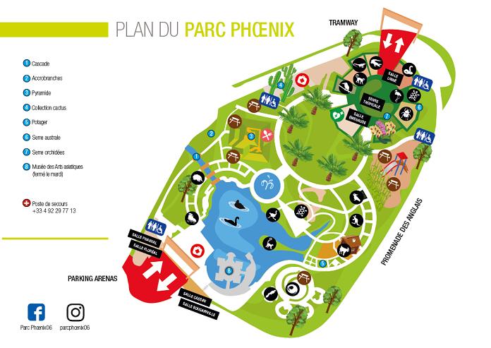 Informations d'accès au Parc
