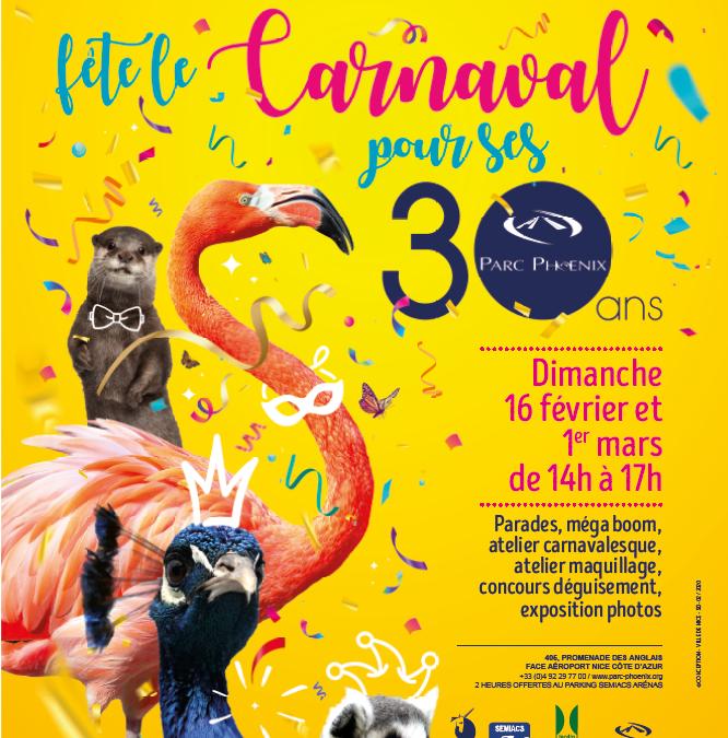 Carnaval au Parc Phoenix !